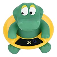 Kyrieval Baby Bath Thermometer Infant Tub Floating Cute Animal Water Safety Temperature Tester Bathing Toy Pool Toys