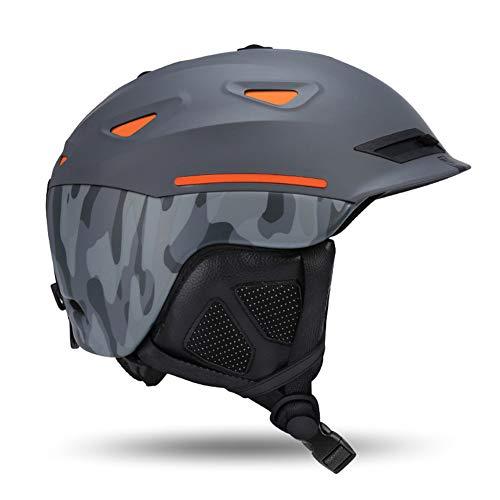 Gski Unisex Skihelm Atmungs Ultraleichtflugzeuge Ski Helm Für Männer Frauen Snowboard Skateboard Winter Outdoor Sports Sicherheit,A,L