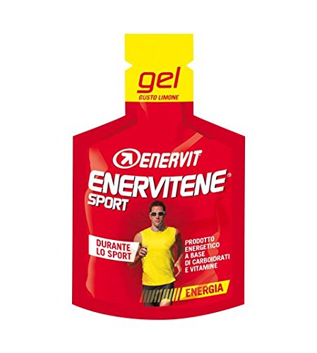 Enervit Enervitene Sport Gel Pack Carboidrati E Vitamine Gusto Cola, Box Da 24 pz Da 25 ml