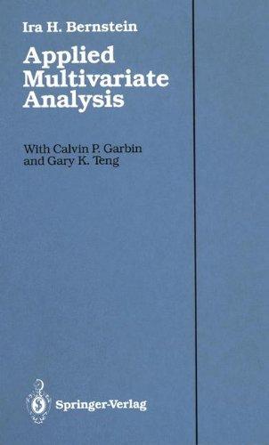 Multivariate Analysis Ebook