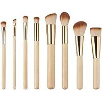 Heißer Verkauf 17,5 * 10 * 2 cm 8 STÜCKE Professionelle Goldenen Rohr Make-Up Pinsel Gesichts Tägliche Makeup... preisvergleich bei billige-tabletten.eu