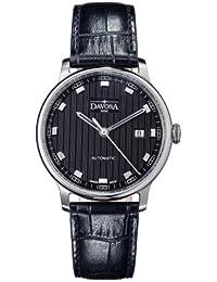 Davosa Herren-Armbanduhr Vanguard Analog Automatik Leder 16151355