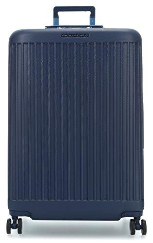 Piquadro Bv4428sk/blu Trolley, 75 cm, Blu