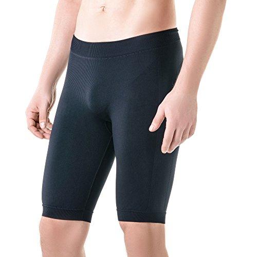 Athletic Kompression Shorts-Base Layer Kompression Shorts, Athletic Unterwäsche, Herren, Schwarz, L/XL (Pro-5-basketball-shorts)