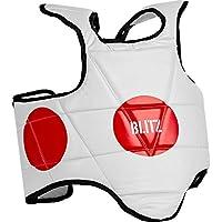 Blitz Standard Spot - Protección de Cuerpo para Boxeo, Color Blanco, Talla X-Large