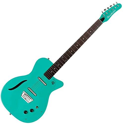 Danelectro '56Vintage Bariton E-Gitarre aqua