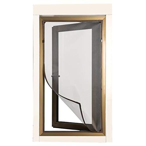 Bildschirmfensternetz,selbst-klebemagnetfenster Garn Anti-moskito Vorhang Home Vorhang Gaze Punsch-kostenloser Magnetbildschirm-a 60x140cm(24x55inch) Trim Gaze