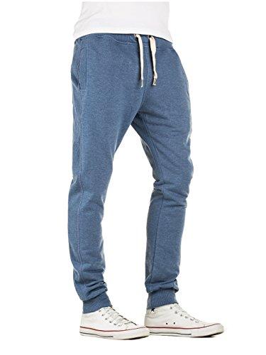 Yazubi Herren Jogginghose Freizeithose Sweatpants Sport Hose Edward Blau (Bijou Blue 183921)