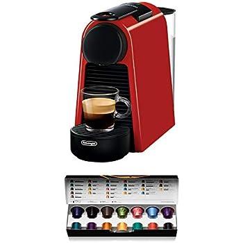 Nespresso DeLonghi Essenza Mini EN85.R - Cafetera monodosis de ...