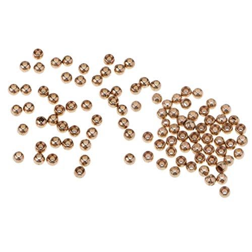 Myriad Choices 100 Stück Perlen-Sortiment für NINFA Ventre Kugelkopf Kugeln aus Kupfer