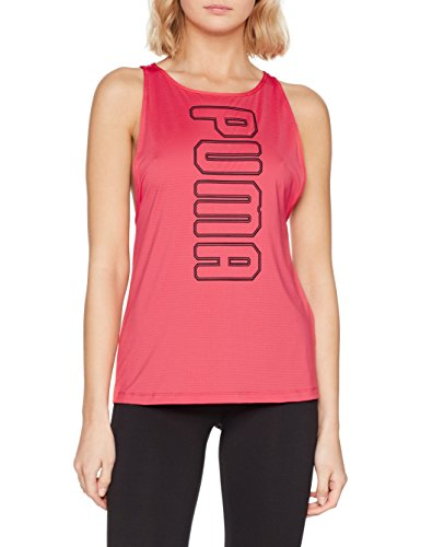 Puma Active Explosive Damen Netz Top Drycell T Shirt Schwarz