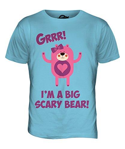 CandyMix Teddybär Zeichentrickfilm Herren T Shirt Himmelblau