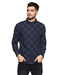 French Connection Mens Slim Fit Casual Shirt (52ISD/8_Ksd103_XL)
