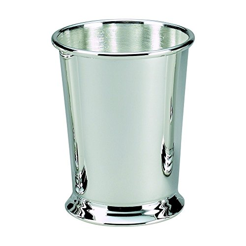 MINT JULEP CUP - MINT JULEP CUP, SILVER PLATED. by Creative Gifts International Silver Plated Ice Bucket