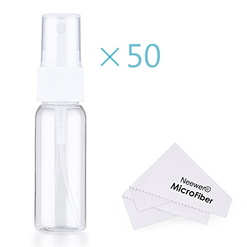 neewerr-50-bottiglie-spray-vuote-in-plastica-opaca-con-panno-in-microfibra-20ml-riutilizzabile-botti