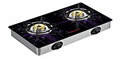 Butterfly LPG Stove, 2 Burners, Silver (L3540D00000)