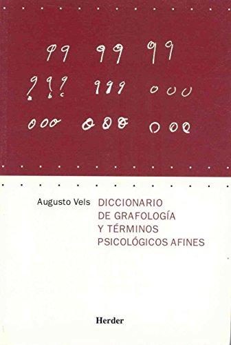 Diccionario de grafología y términos psicológicos afines