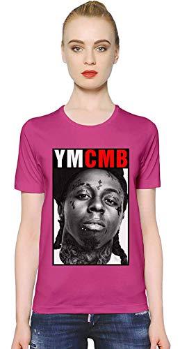 Lil Wayne YMCMB YMCMB Women T-Shirt Girl Ladies Stylish Fashion Fit Custom Apparel by X-Large - Wayne Rosa Shirt Lil