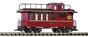 Piko 38646g de Tren de mercancías begleit Carro C y S con Las Luces traseras alumbran, Vehículo de Carril