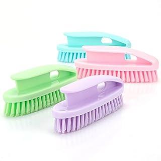asentechuk®1 Stück Multifunktions-Wäsche Bürste Starke Kleidung Reinigungsbürste (zufällige Farbe)