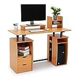 Best Gaming Desks - CRAZYLYNX Computer Desk, Office Study Desk Computer PC Review