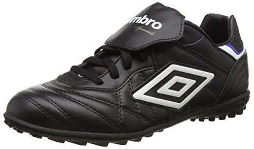 UmbroSpeciali Eternal Premier Tf - Scarpe da Calcio uomo, Nero (Black (Black/White/Clematis Blue)), 39.5 EU (6 UK)