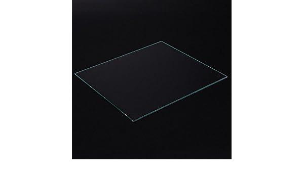 230x150x3mm Square 3D Printer Borosilicate Glass Build Plate 230mm x 150mm x 3mm for 3D Printer Boro Glass Bed