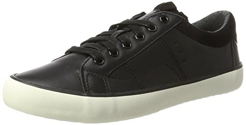 ESPRIT Damen Mandy lu Sneaker, Schwarz (Black), 38 EU