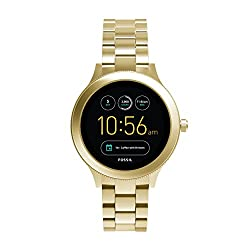 Fossil Q Venture Damen Smartwatch Gen.3 - Goldenes Edelstahlgehäuse Und Armband - Kompatibel Android Und Ios