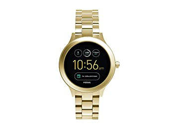 Fossil Q Venture Unisex FTW6006 3. Nesil Gold-Tone Akıllı Saat