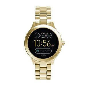 Smartwatch Fossil Q Venture Unisex Gen 3, Caja y brazalete en color dorado