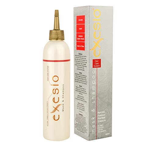 Exesio Shampoo für Haarausfall und Haartonikum kombiniert, Haarwuchs-Shampoo, klinisch geprüft, Haarausfall Behandlung für Frauen und Männer 280ml