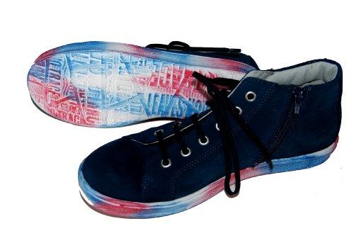 Däumling Kommunionschuhe, festliche Schuhe, Sneaker dunkelblau (Turino tiefsee)