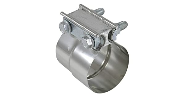 "3.5/"" Torctite Stainless Steel Preformed Lap Exhaust Pipe Clamp"