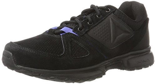 Reebok Damen Sporterra 7.0 Walkingschuhe, Schwarz (Black/Coal/Lilac Shadow/Medium Grey), 40 EU