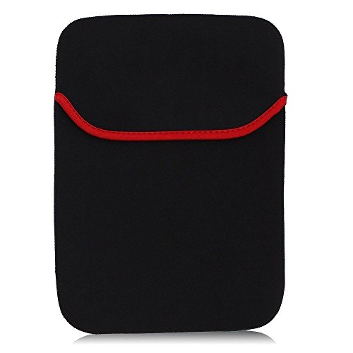 Storin® Laptop Sleeve for All 10 inch Laptop,Tablet Bag, Case, Pouch Reversible Black & Red