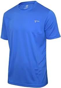 TREN Herren Polyester Performance Tee Funktionsshirt T-Shirt Signalblau 420 - XXL