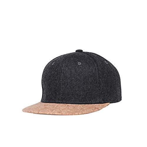 GAOXUQIANG Kork Mode einfache Männer Frauen Hut Hüte Baseball Cap,Darkgray,L
