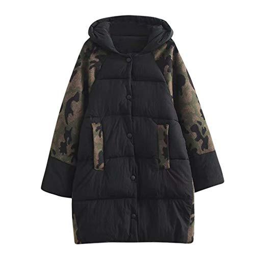 Toasye Ausverkauf Frauen Winter Plus Größe Langarm Harajuku Stil Jacke, Damen Camouflage Print Lässige Mantel Outwear