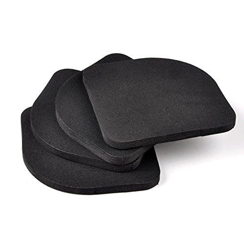 gezichta 4PCS anti-shaking Pads für Waschmaschine Schock Anti Vibration Feet Pads