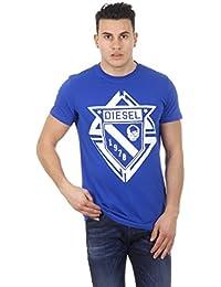 T-shirt à manches courtes T-scod Bleu Diesel