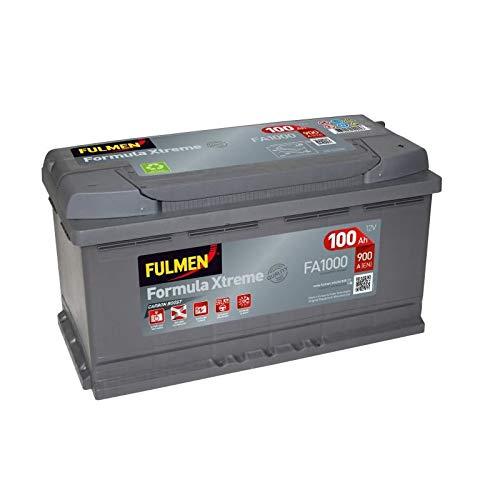 Fulmen - Batterie voiture FA1000 12 V 100 Ah 900 A