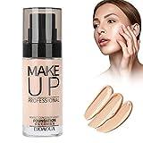 Fondotinta liquido, 30ml BB cream Idratante concealer idratante base foundation crema per il viso, leggera(03# Colore della pelle chiara)