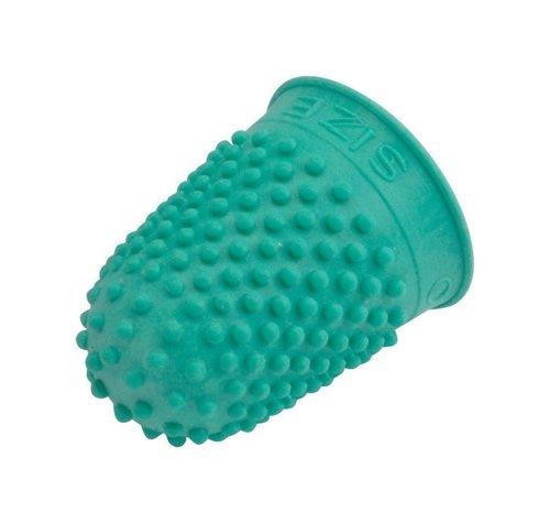 Quality Rubber Gummi-Fingerhut zum Zählen von Geldscheinen und Umblättern Größe 0 klein 10 Stück grün
