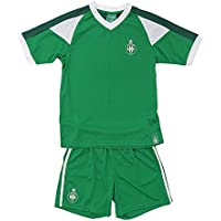 Mini Kit AS St Etienne Enfant - Licence Officielle ASSE - Vert.