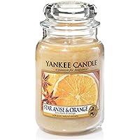 Yankee Candle - Barattolo grande con candela, anice stellato e arancia