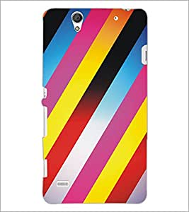 PrintDhaba Pattern D-5305 Back Case Cover for SONY XPERIA C4 (Multi-Coloured)