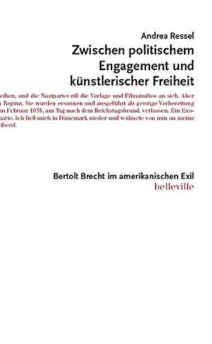 Zwischen politischem Engagement und künstlerischer Freiheit: Bertolt Brecht im amerikanischen Exil