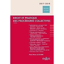 Droit et pratique des procédures collectives 2017/2018 - 9e éd.