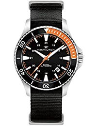 Hamilton Khaki Navy h82305931deportivo reloj de hombre 80h Reserva